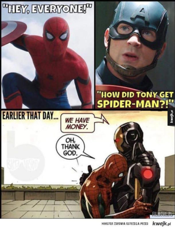 Jak Spider-Man trafił do teamu Iron Mana