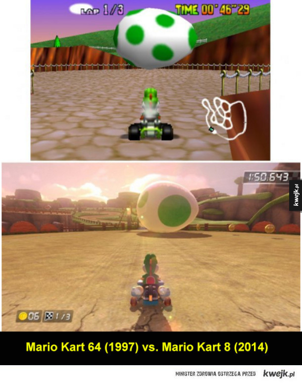 Tak zmieniła się grafika w grach video