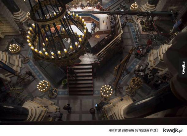 Zdjęcia z planu filmowego Warcrafta
