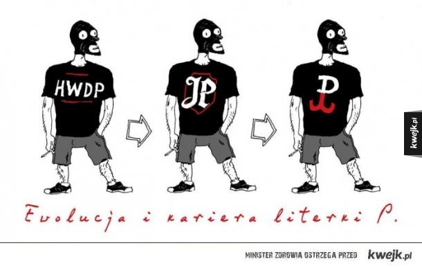 Ewolucja literki