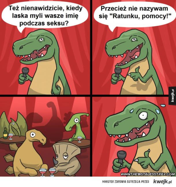 Tyranozaur śmieszek
