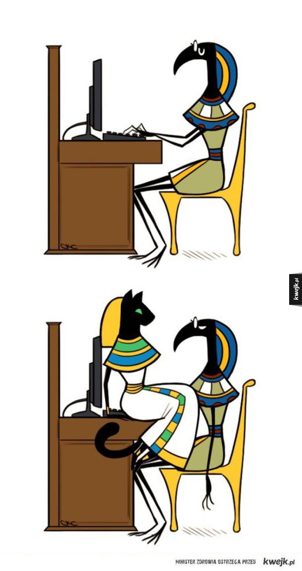 Bastet - egipska boginii kotów
