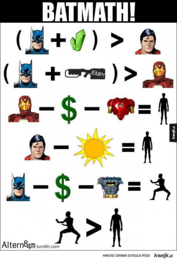 Batman jest wszystkim
