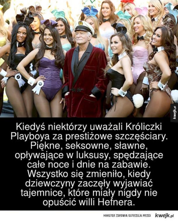 Kiedyś niektórzy uważali Króliczki Playboya za prestiżowe szczęściary. Piękne, seksowne, sławne, opływające w luksusy, spędzające całe noce i dnie na zabawie. Wszystko się zmieniło, kiedy dziewczyny zaczęły wyjawiać tajemnice, które miały nigdy nie opuścić