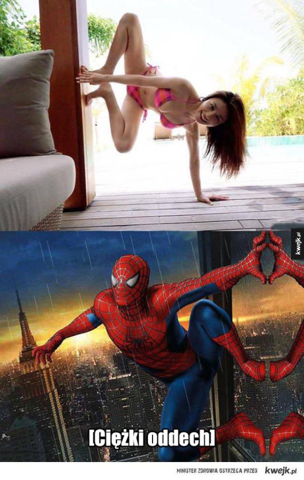 Mokry sen Spider-Mana