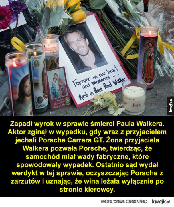 Werdykt w sprawie śmierci Paula Walkera