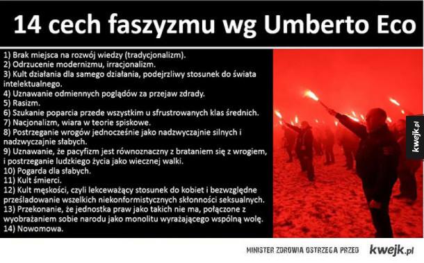 Faszyzm wg Eco