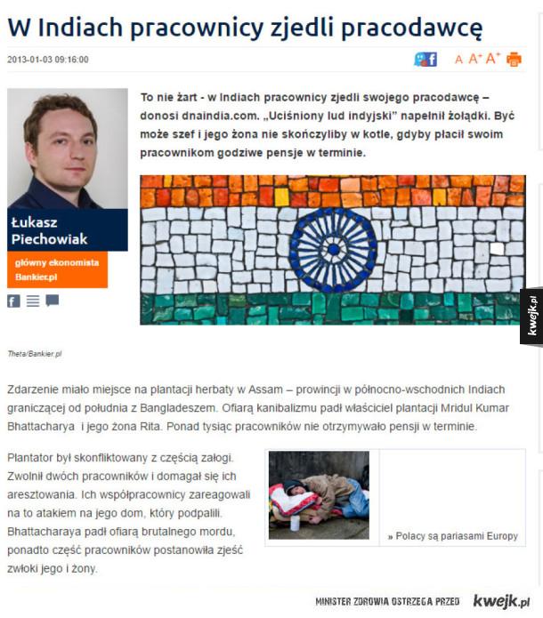 Tymczasem w Indiach