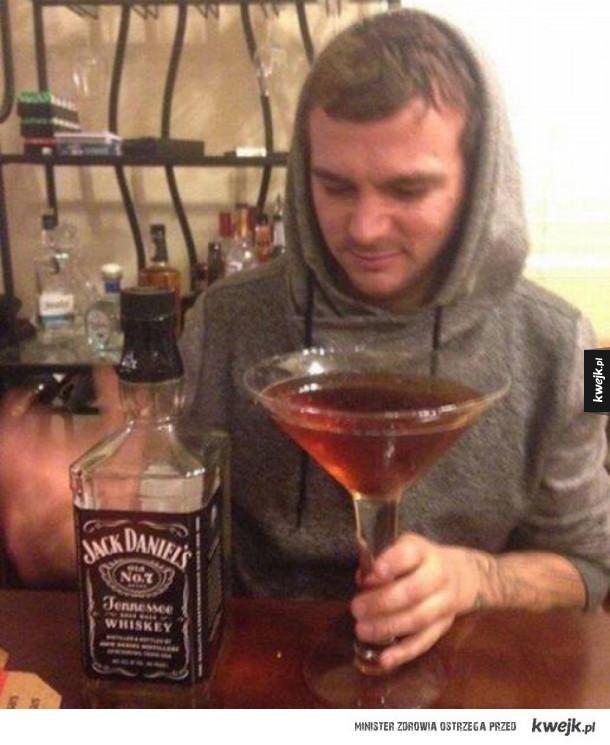 Męski drink