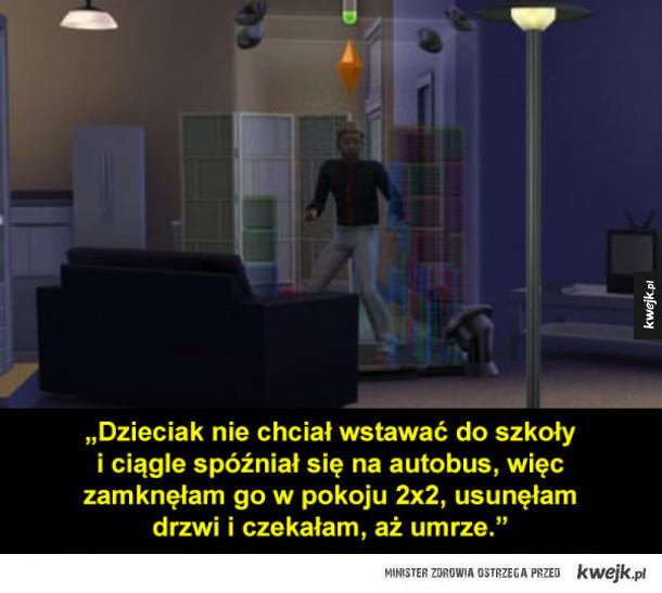 Dziwne rzeczy, które ludzie robili grając w The Sims