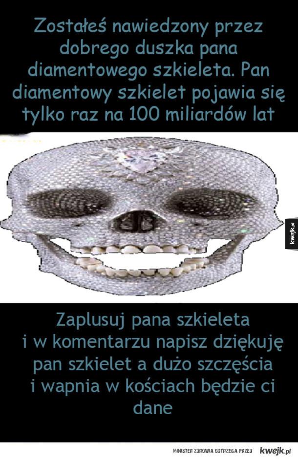 Diamentowy szkielet