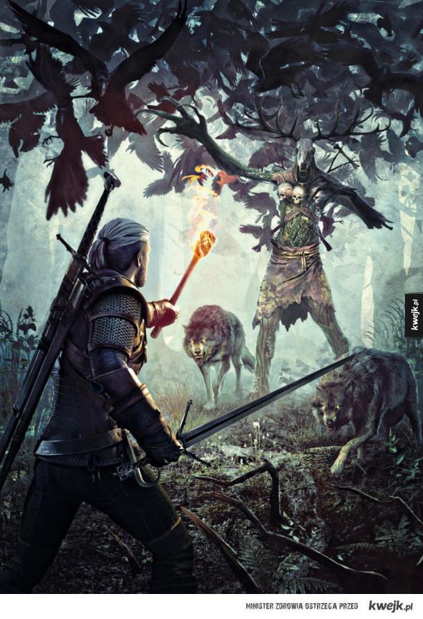 Grafiki koncepcyjne i promocyjne do gry Wiedźmin 3 Dziki Gon