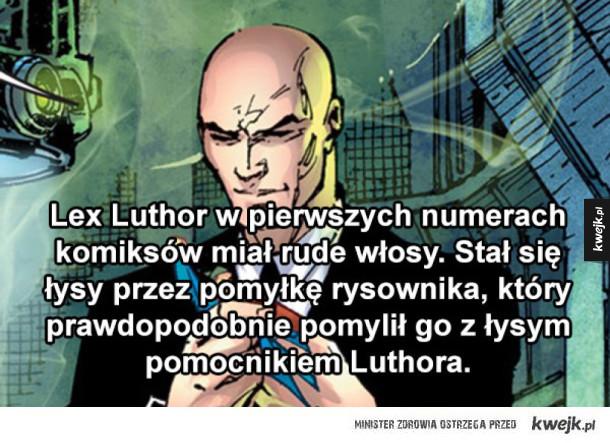 Lekko bezużyteczne informacje o superbohaterach