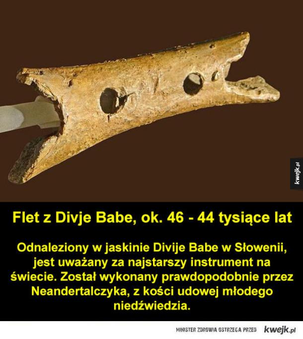 Najstarsze przedmioty na świecie