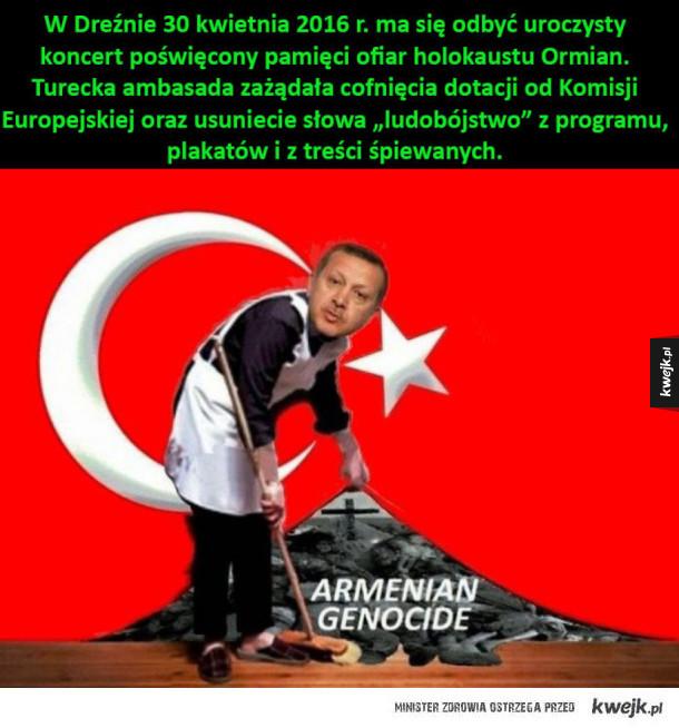 Komisja Europejska uwierzyła, że Turcy nie dokonali ludobójstwa Ormian