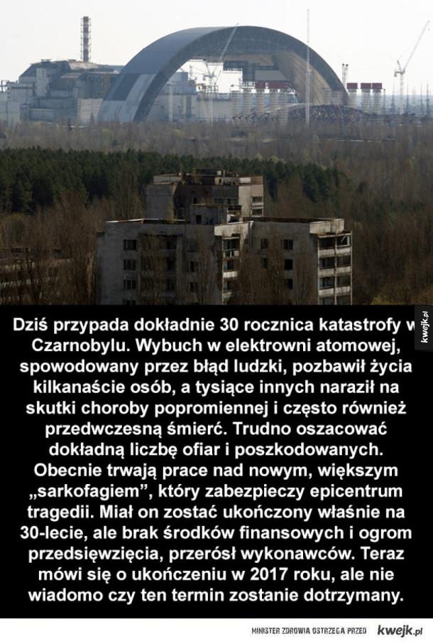 30 rocznica katastrofy w Czarnobylu