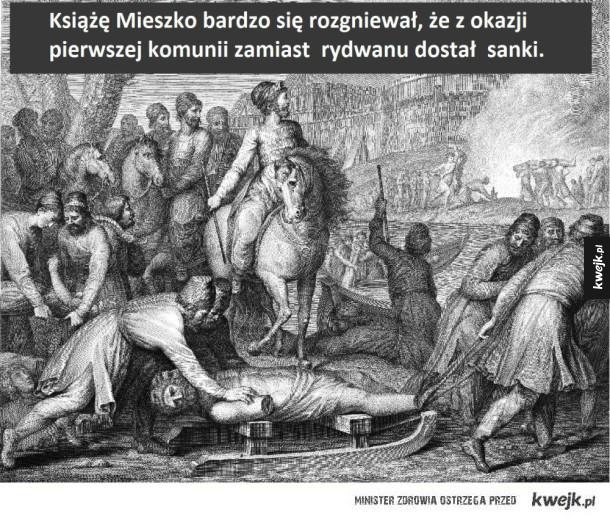 Dlatego obchodzimy rocznicę chrztu Polski, a rocznicy pierwszej komunii nie