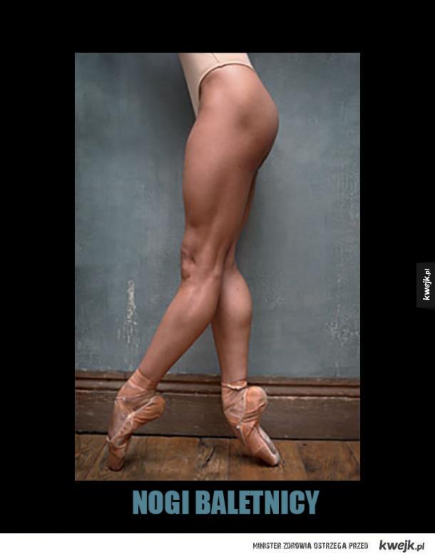 Nogi baletnicy