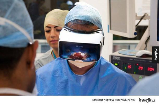 Operacja w wirtualnej rzezcywistości