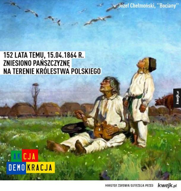 Zaledwie 152 lata temu