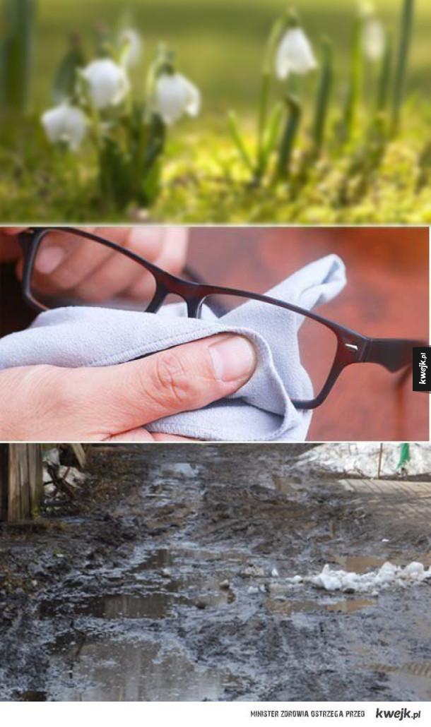 Posiadacze okularów zrozumieją