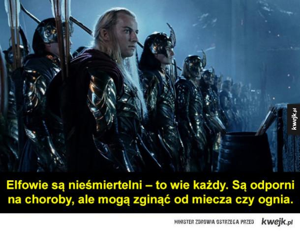 Garść faktów o elfach Tolkiena