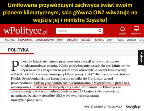 ministr Szyszko