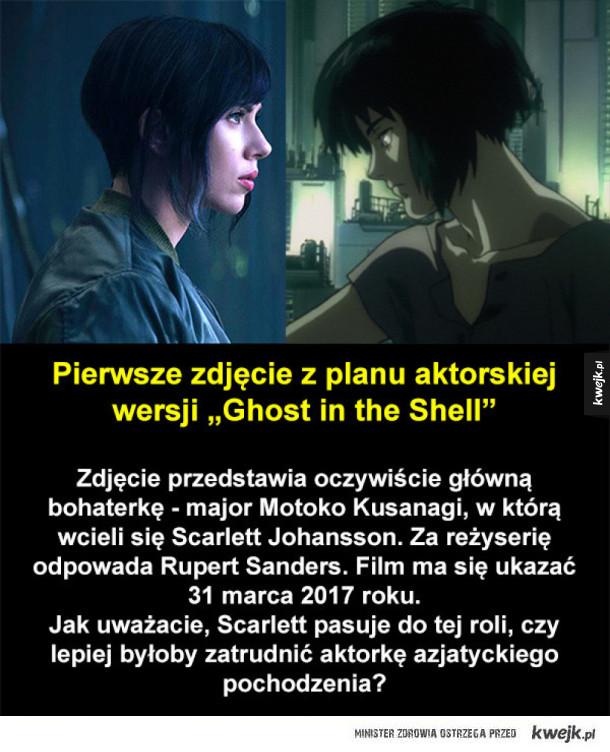 Scarlett Johansson jako Motoko Kusanagi