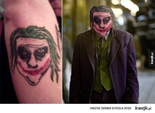 Tatuaże, które wyszły naprawdę źle