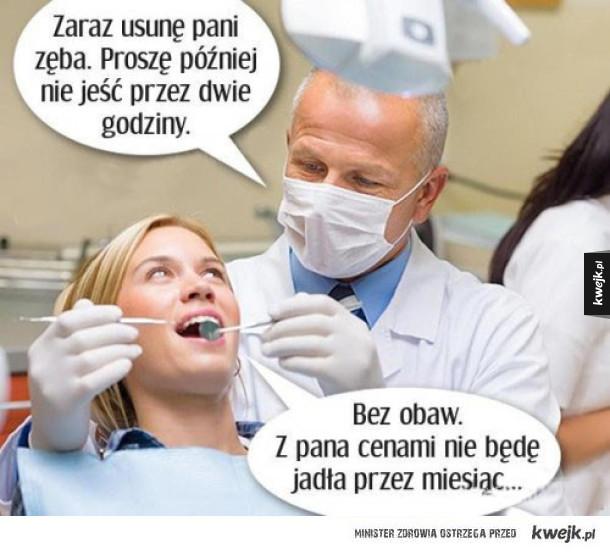 Tymczasem u stomatologa