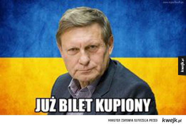 Balcerowicz posłuchał Stonogi