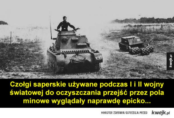 Epickie historyczne czołgi