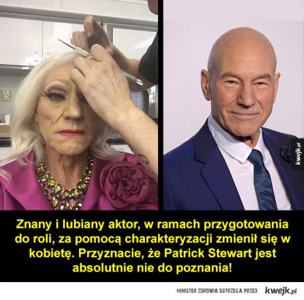 Znany aktor jako kobieta
