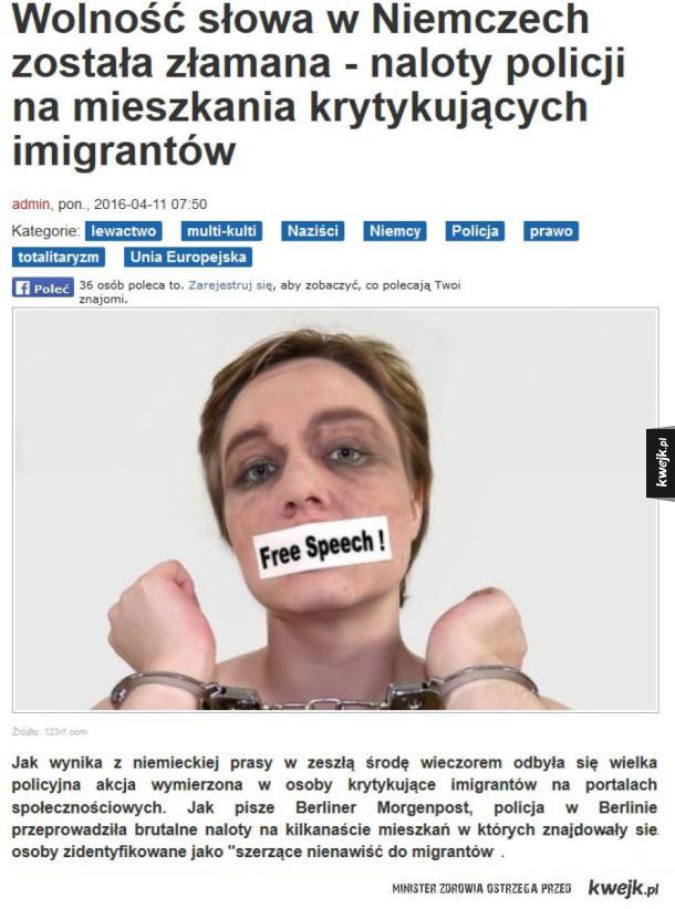 Wolność słowa w Niemczech