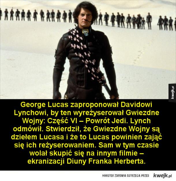 Ciekawostki o filmach Davida Lyncha