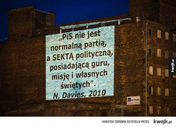 Norman Davies o PiS