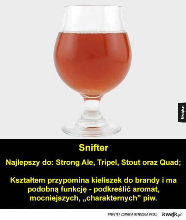 Rodzaje szklanek do piwa