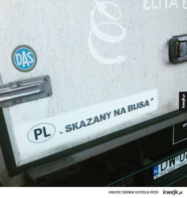 skazany na busa