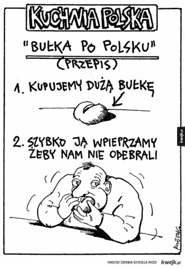 Bułka po polsku