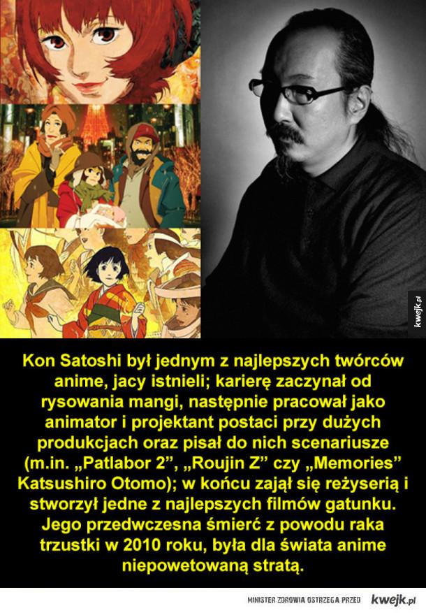 Anime legendarnego Kona Satoshi