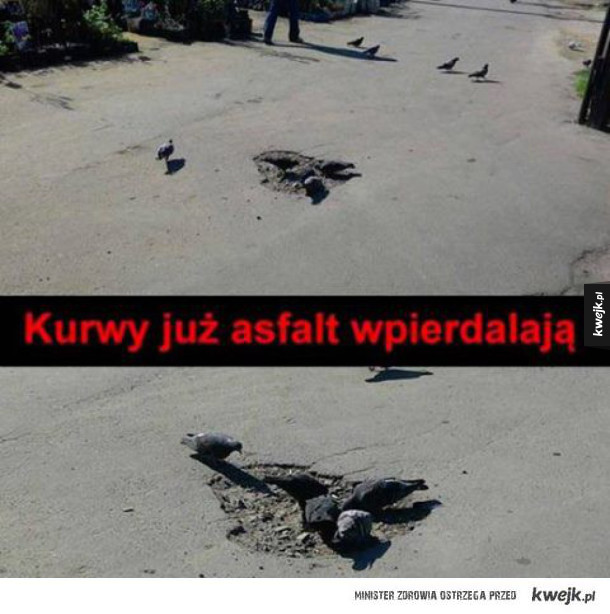 Tak powstają dziury na drogach