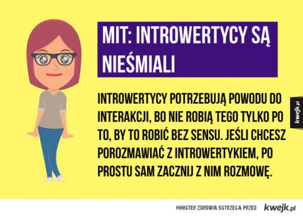 Mity o introwertykach