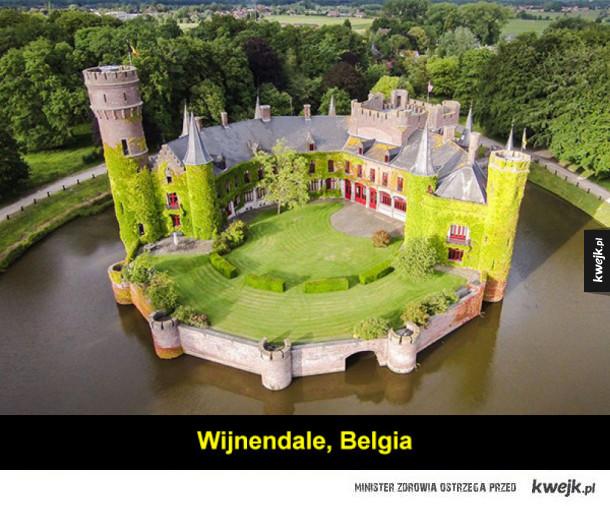 Piękne, europejskie zamki