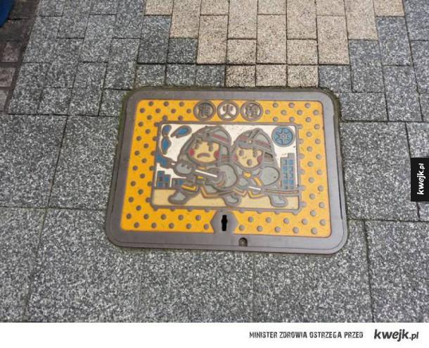 W Japonii nawet hydranty są kawaii...