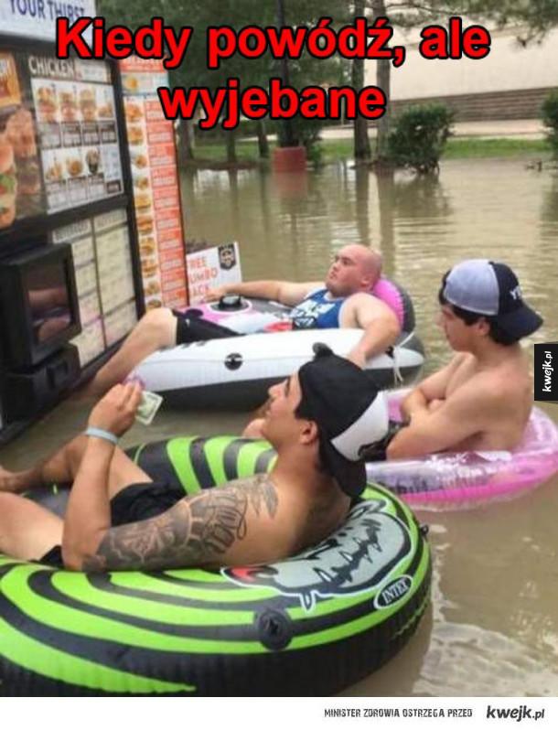jaka powódź?