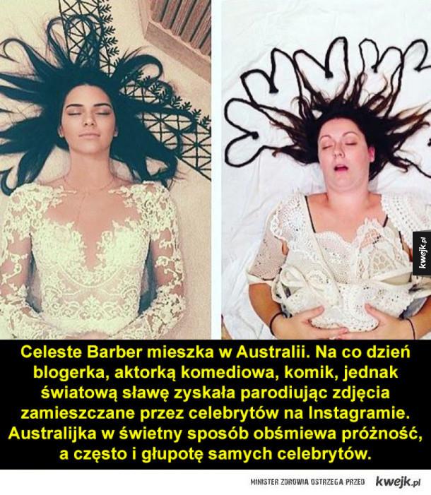 Poznajcie Celeste Barber!