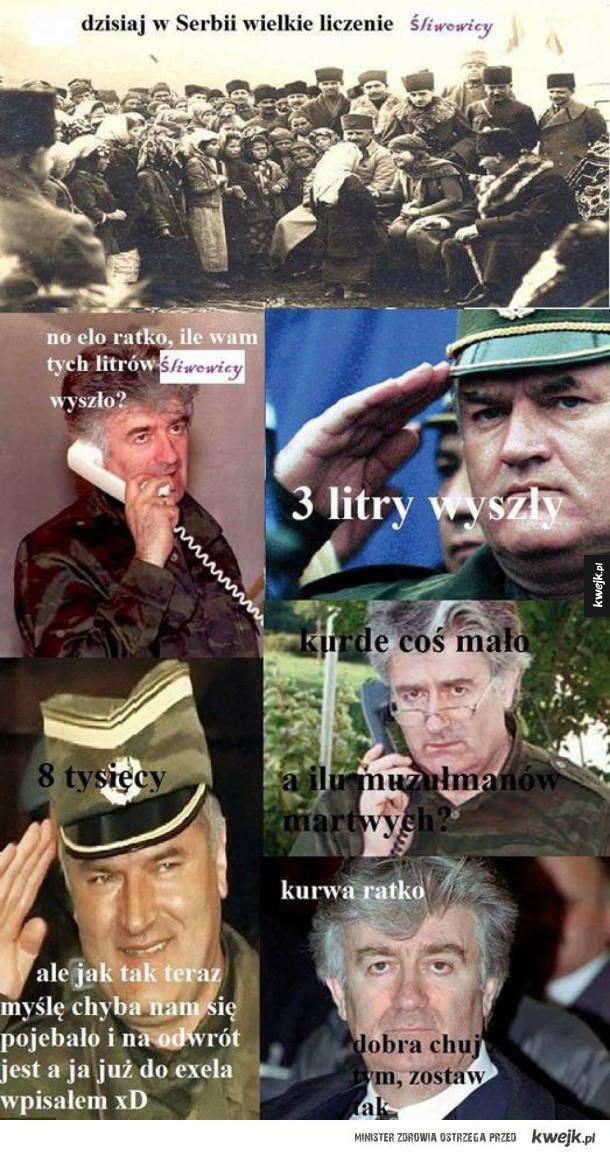 Tymczasem w Serbii