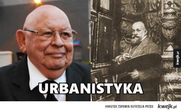 Jerzy Urban i Jan Styka