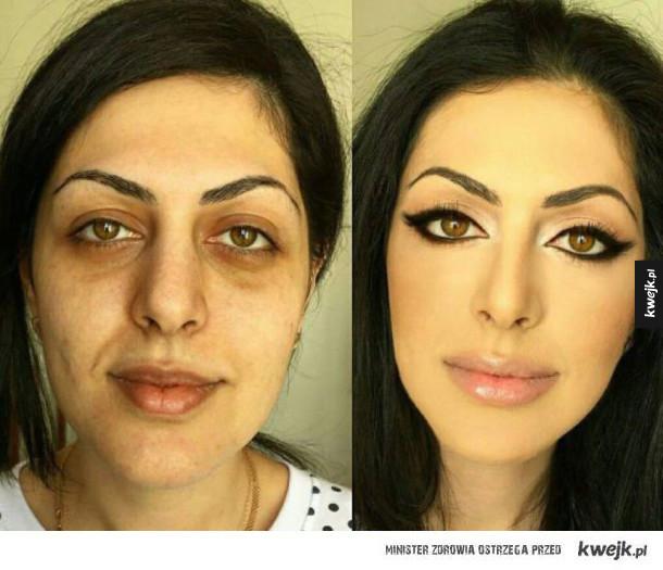 Makijaż może zdziałać cuda