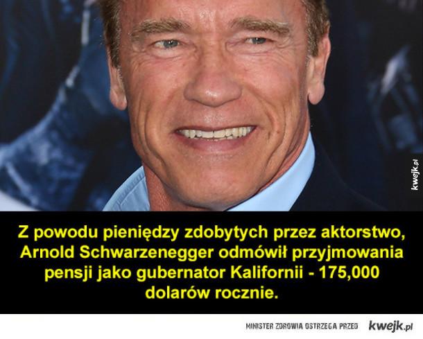Dobry ziomek Arnie i inne ciekawostki na dziś